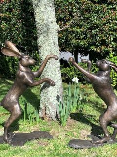 Boxing Hares 1