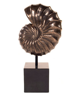 Nautilus table sculpture
