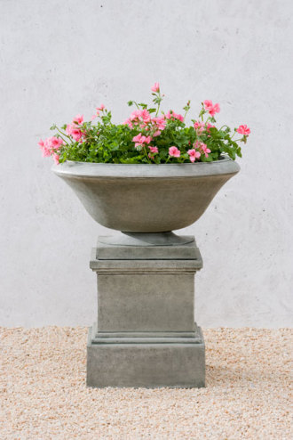 Marywood Urn and Glenview Pedestal